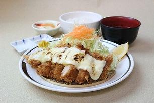 チーズチキンかつ定食