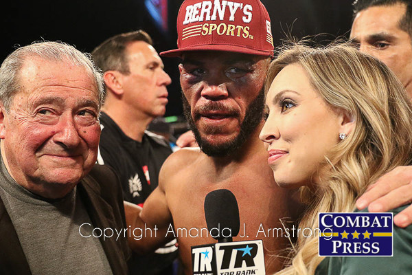 Top Rank Boxing, Ringside, Bob Arum, Ray Beltran, Crystina Poncher, Amanda Armstrong , Denver Photographer, Sports Photography, Boxing, Top Rank , Espn