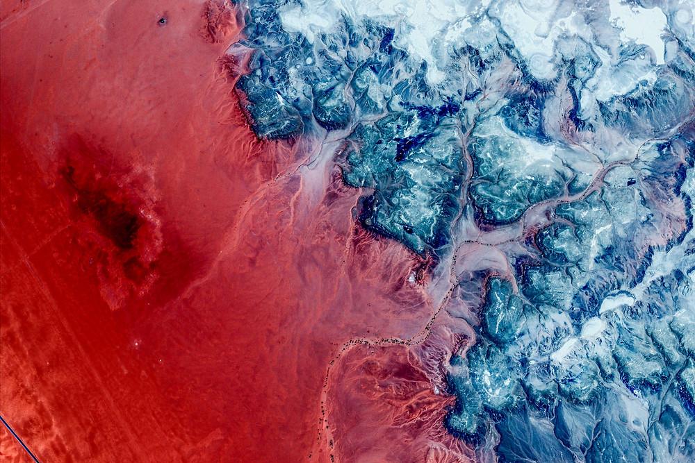 Hail Province, Saudi Arabia 2021 Google Earth, ©2021 CNES / Airbus, Maxar Technologies