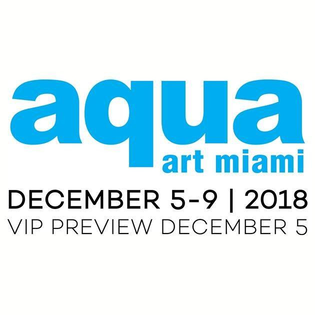 Amanda J Armstrong exhibit at Aqua Art Miami