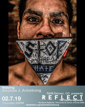 Amanda J Armstrong , Reflect, Denver, Church Night Club