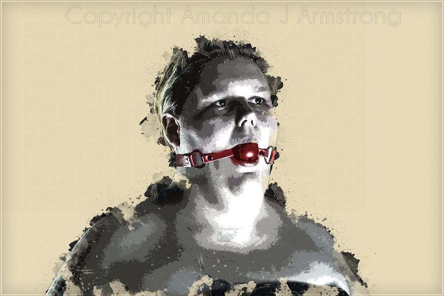 BDSM, Amanda J Armstrong , SOlo art show, the body obscura, art, gallery, Denver, gallery