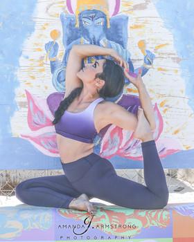 Yoga, and fitness portraits