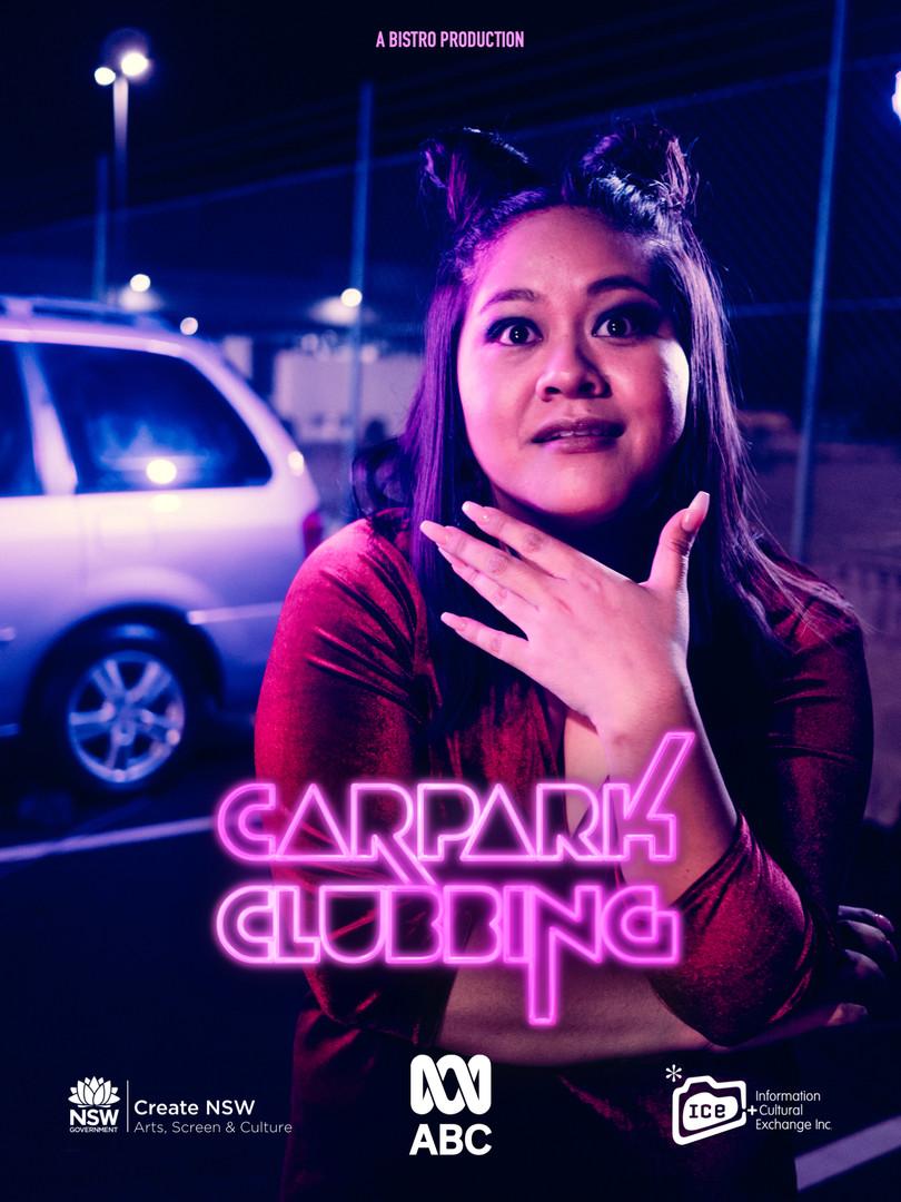 Carpark Clubbing Character Poster Sokhey