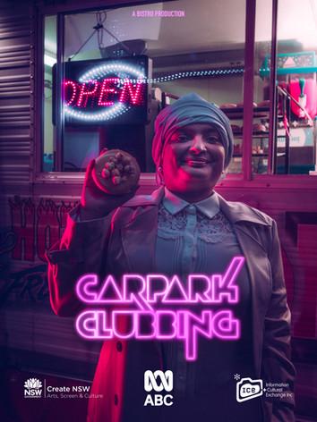 Carpark Clubbing Character Poster Nashra
