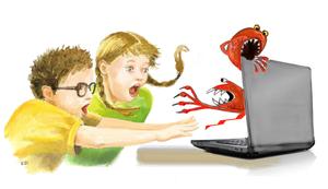 Bezpieczeństwo w sieci - szkolenie dla rodziców uczniów klasy 7 i 8