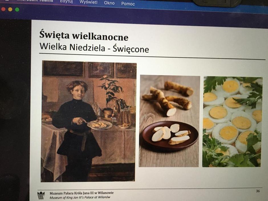 Lekcje muzealne w Muzeum Pałacu w Wilanowie