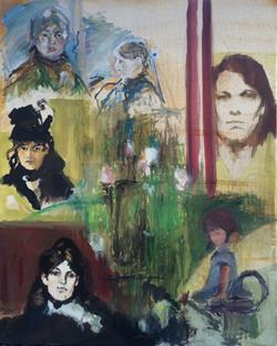 Autoportrait after Berthe M.