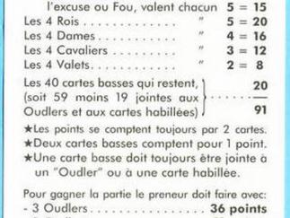 Tarot. Tirage n°5