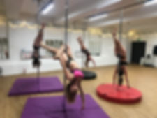 Aerial Empire Pole fitness