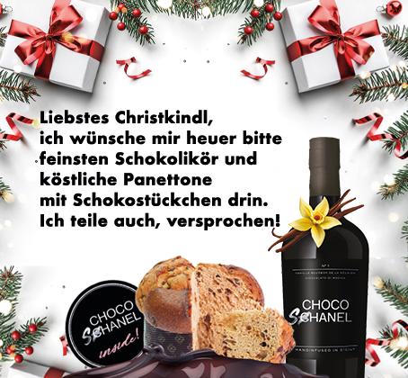 Weihnachtsaktion Choco Schanel & Panettone