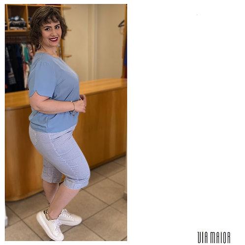 Blusa Crepe Lisa