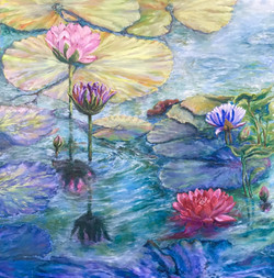 Reflections on Water Lilies