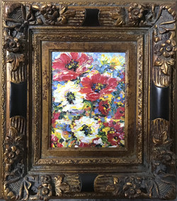 Poppies To Remember, framed