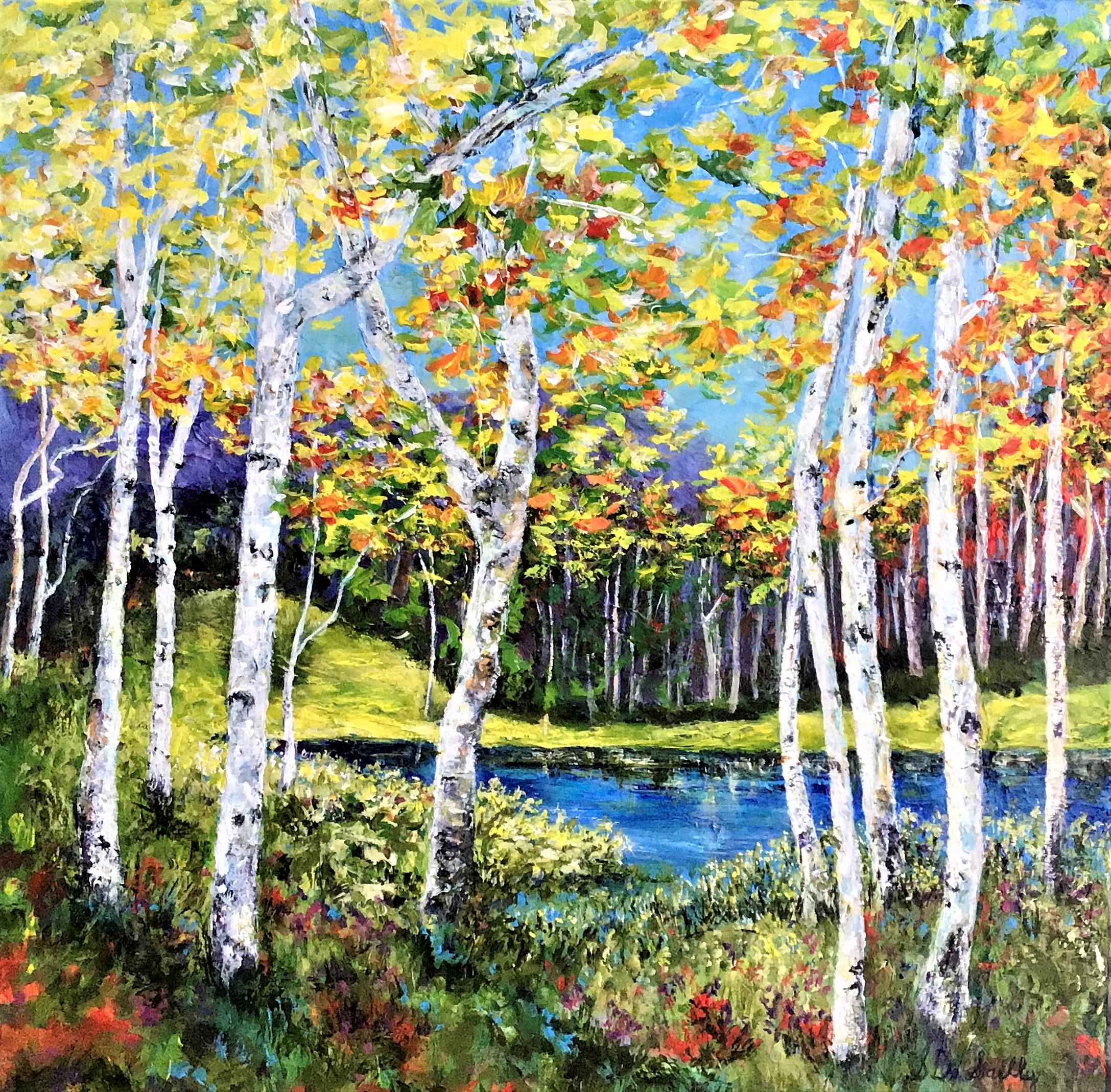 SOLD Autumn Lakeside