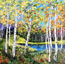 SOLD Autumn Lakeside