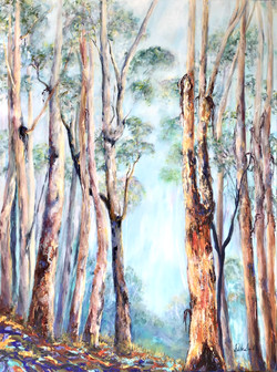 SOLD The Forest Breathes