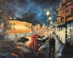 Sparkling City Night