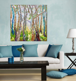 Forest Harmony in room