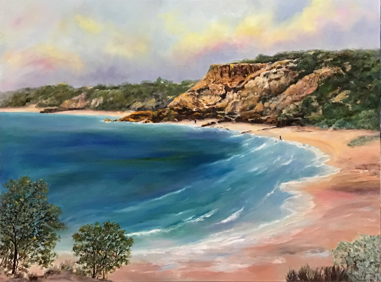 Golden Rock - the Red Bluff