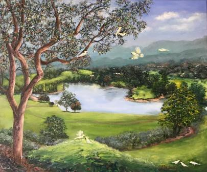 SOLD Cockatoo Corroboree in The Tweed Valley
