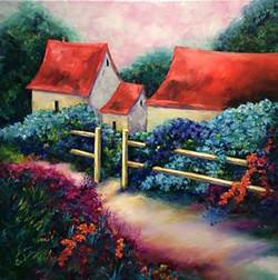 French Farmhouse Hydrangeas