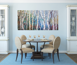The Forest In Spring in room