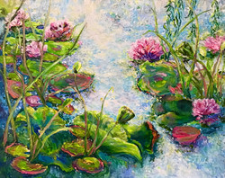 'Light Up My Life' Water Lilies