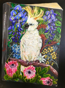Book Cover - Cockatoo In Spring