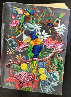 Book Cover - Lorikeets In Spring