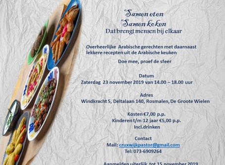 Stichting Ana Insan verzorgt een kookles workshop!