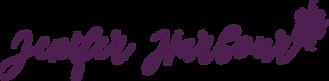 Jenifer Harbour Yoga Logo_Word_Purple.pn