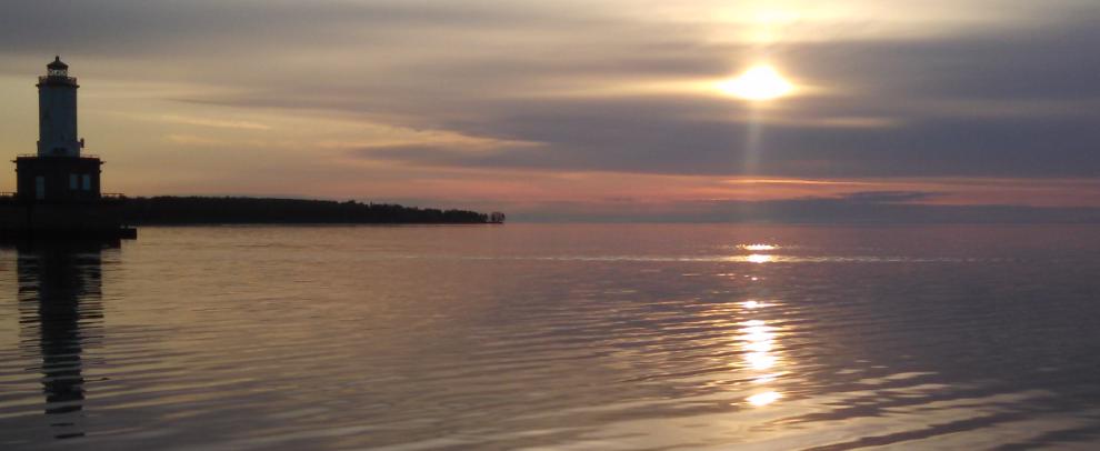 Keweenaw Bay Sunrise