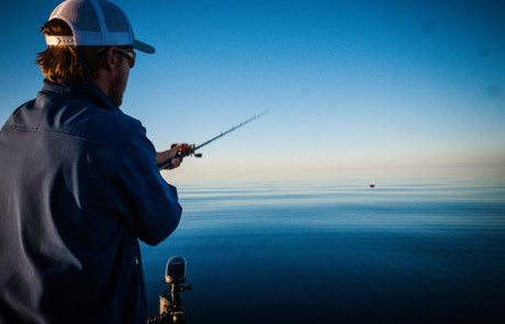 Casting for Trout and Salmon Lake Superior