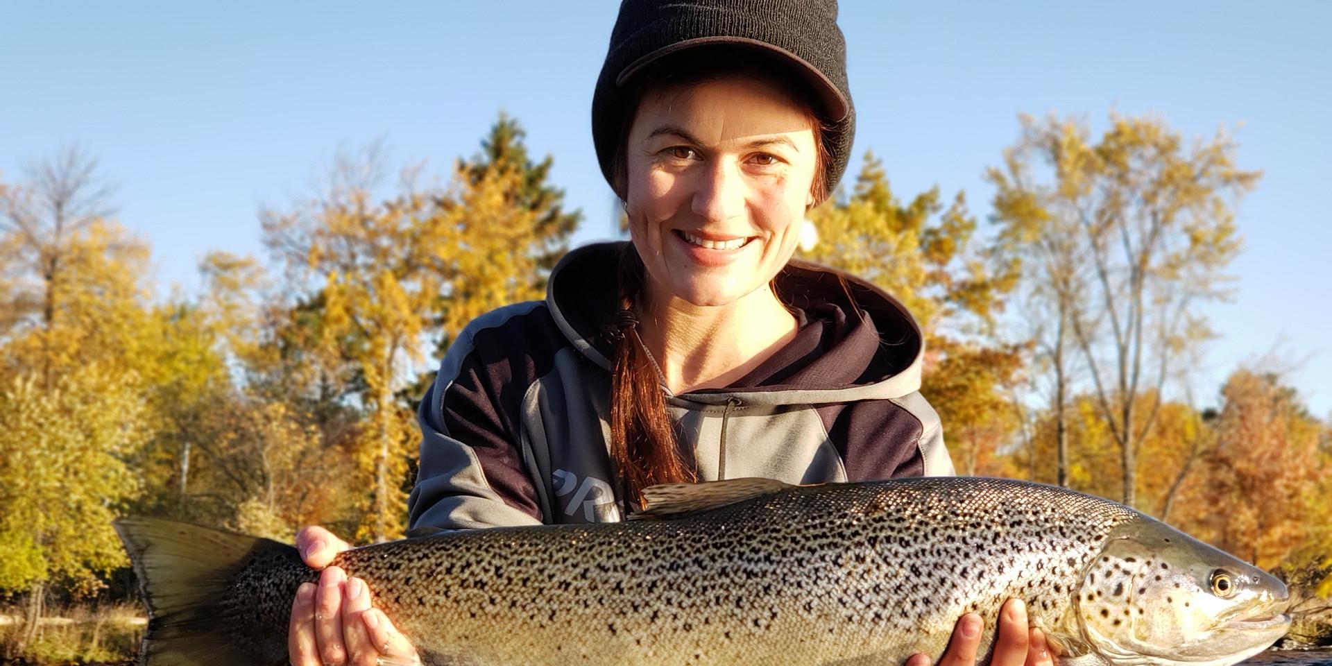 Lake Superior Fall Brown Trout Fishing