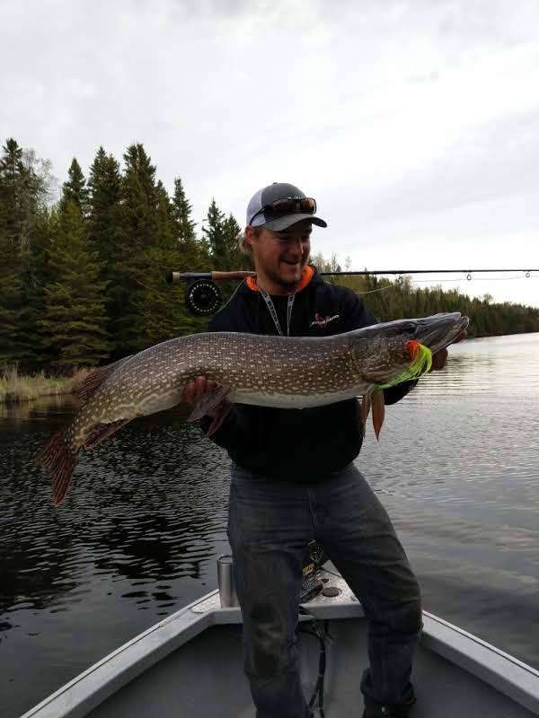 Trophy Pike Fishing Lake Superior