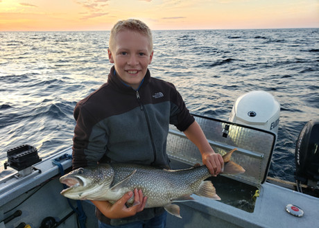 Offshore Trophy Lake Trout