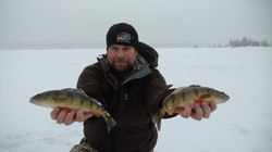 Ice Fishing the Keweenaw for Panfish