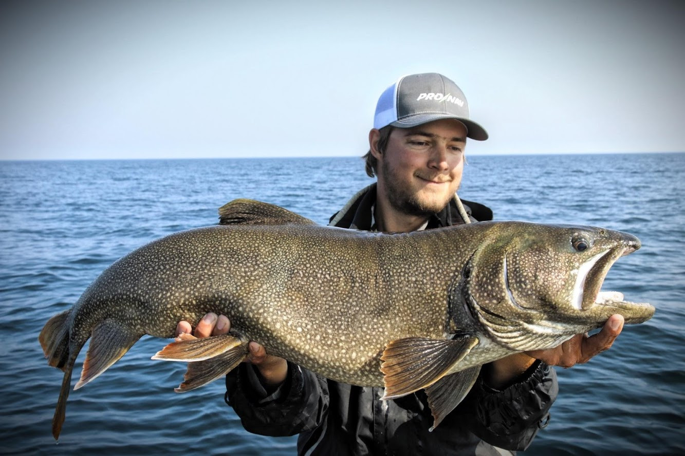 Offshore Lake Trout Lake Superior
