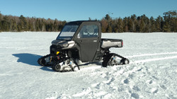 Ice Fishing Tracked Side By Side Transpo