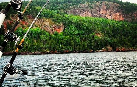 Bear Bluff Lake Superior Lac La Belle