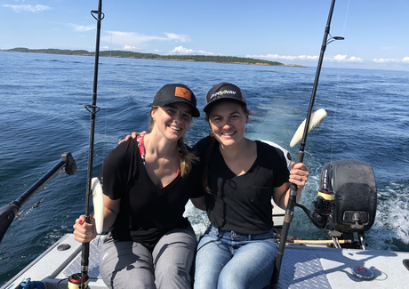 Jigging for Lake Trout