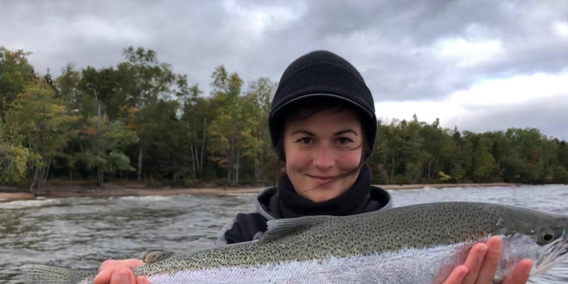Fall Steelhead Fishing Lake Superior