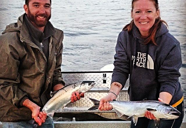 King Salmon on Lake Superior