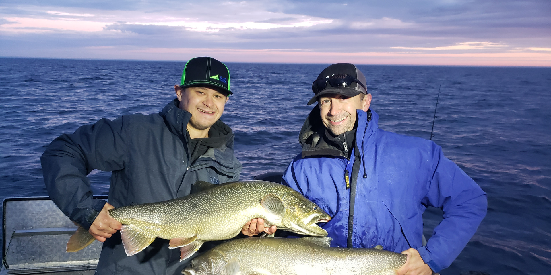 Offshore Trophy Lake Trout Stannard Rock