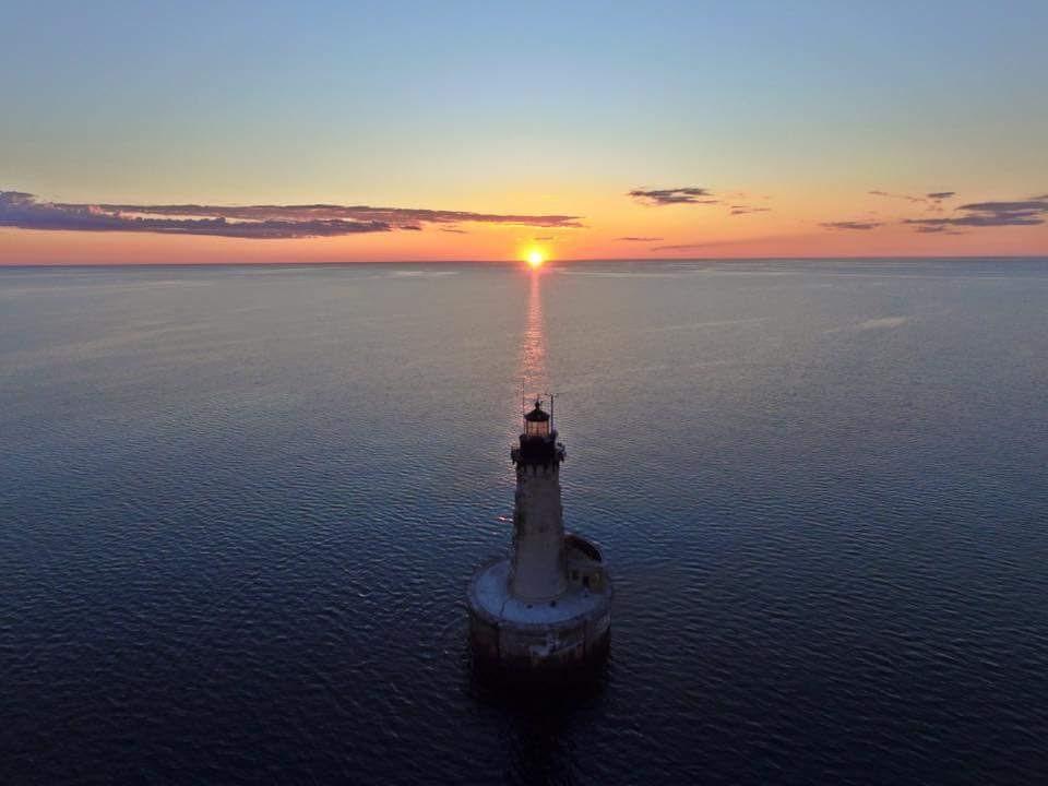 Stannard Rock Lighthouse