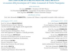 """Convegno """"La gestione del rischio ed i sistemi di prevenzione del reato"""" - 28 settembre 20"""