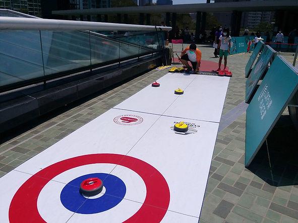 地板冰壺在綠運會
