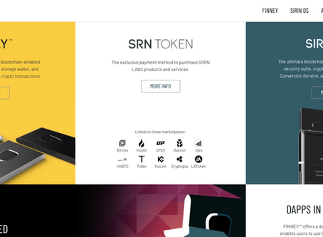 Corporate Website Project Management - SIRIN LABS