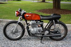Milk Racer - 1973 CB350 Cafe Racer